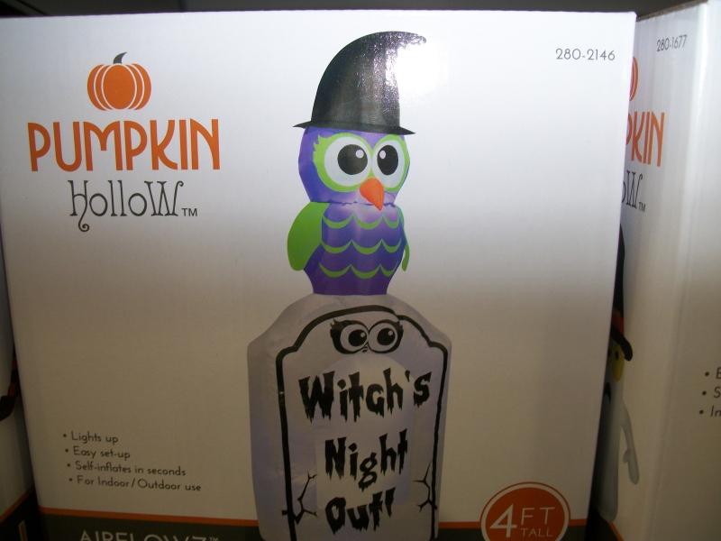 witchs night out inflatable - Menards Halloween Decorations