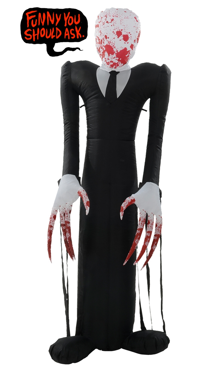 im going to let you take a moment to soak in what youve just scrolled past feel free to scroll back up and do it again if you need to - Halloween Costume Slender Man