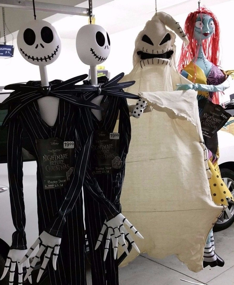 i realize we were lucky enough to get more than just a jack but i figured if these sell well enough maybe theyd consider an oogie for 2016 - Nightmare Before Christmas Halloween Decorations For Sale