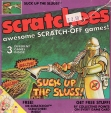 An old 90's scratch-off game for kids. Go ahead. Suck them up.