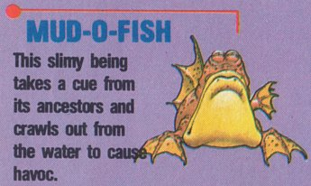 """Star Tropics"" enemy from an issue of ""Nintendo Power"""