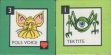 "Tiles from the ""Legend of Zelda"" board game."