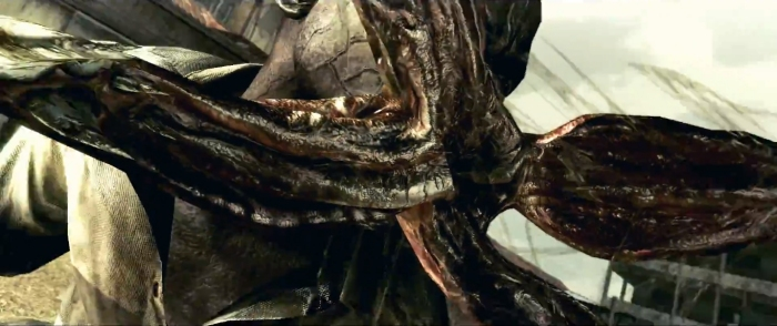 resident evil 5 zombies mouth